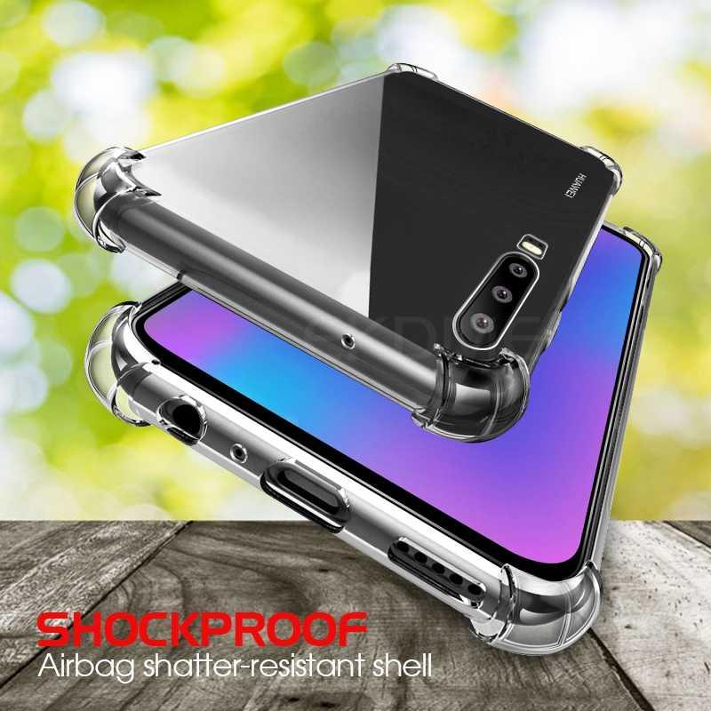 Anti şok Temizle Kılıfları Için Huawei P20 P30 Lite P30 Mate 10 20 Pro Şeffaf Silikon Yumuşak Kılıf Için Huawei Mate 20 10 Lite 20X Kapak