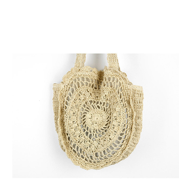 XMESSUN 2018 Bohemian Straw Bags for Women Big Circle Beach Handbags Summer Vintage Rattan Bag Handmade Kintted Travel Bags C78
