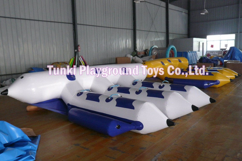 Big inflatable fly fish boat water game