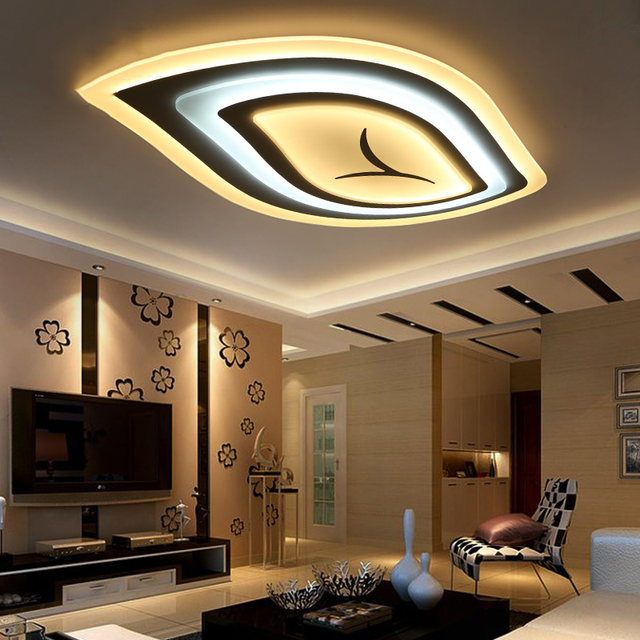 Charmant Baum Blatt Acryl Moderne LED Kronleuchter Für Wohnzimmer Schlafzimmer Led  Moderne Beleuchtung RC Dimmbare