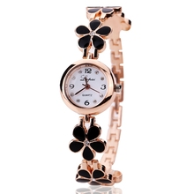 Crystal Gold Women Bracelet Watches