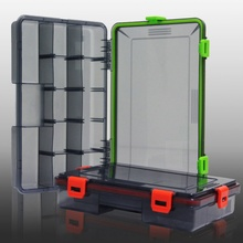 Minnows Multiple Compartments Fishing Lure Accessories Box Bait Fishing Tackle Container Plastic Storage Holder Square Case