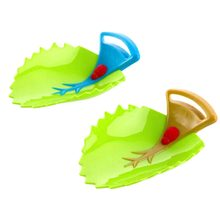 2017 Lovely Crab Leaf Shape Bathroom Sink Faucet Chute Extender Children Kids Washing Hands(China)