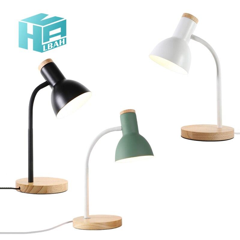 Table de chevet de lampe de bureau de style Ins  armoire de protection des yeux  personnalité simple  table de travail d'étudiant|Lampes murales d'intérieur LED| |  -