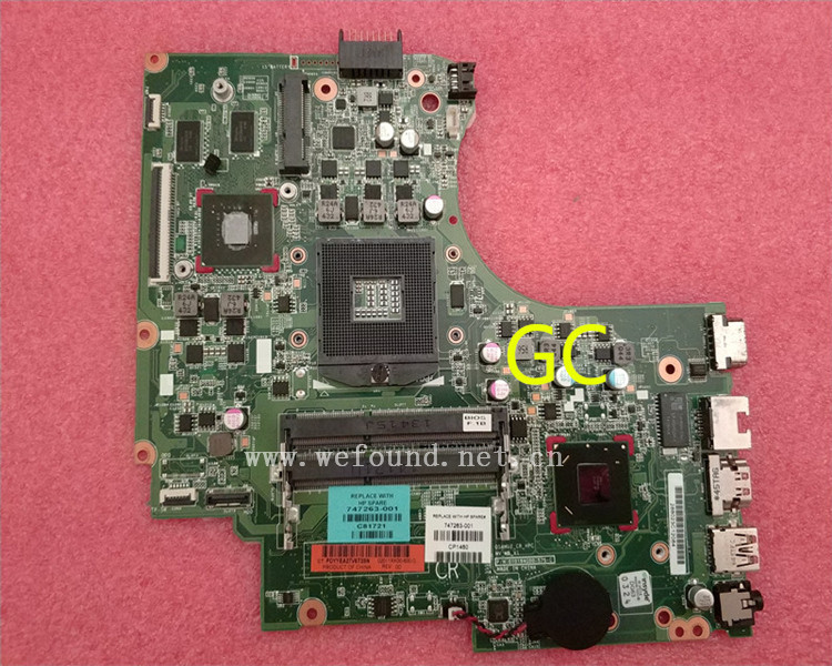 laptop Motherboard For 14-D 15-D 240 G2 748839-501 748839-001 system mainboard Fully Tested original 748839 001 laptop motherboard for hp 15 d 250 g2 748839 001 notebook mainboard 100% fully tested