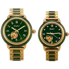 2020 Direct Selling Customize Wholesale Watches And Tian Jasper Craft Hollow Aut
