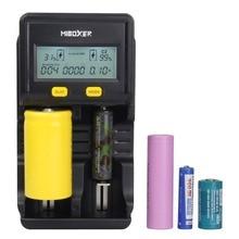 Miboxer C2-4000 2 slots Intelligente Lcd-bildschirm Ladegerät für Li-Ion/Ni-Mh/Ni-Cd/LiFePO4 18650 26650 wiederaufladbare batterien