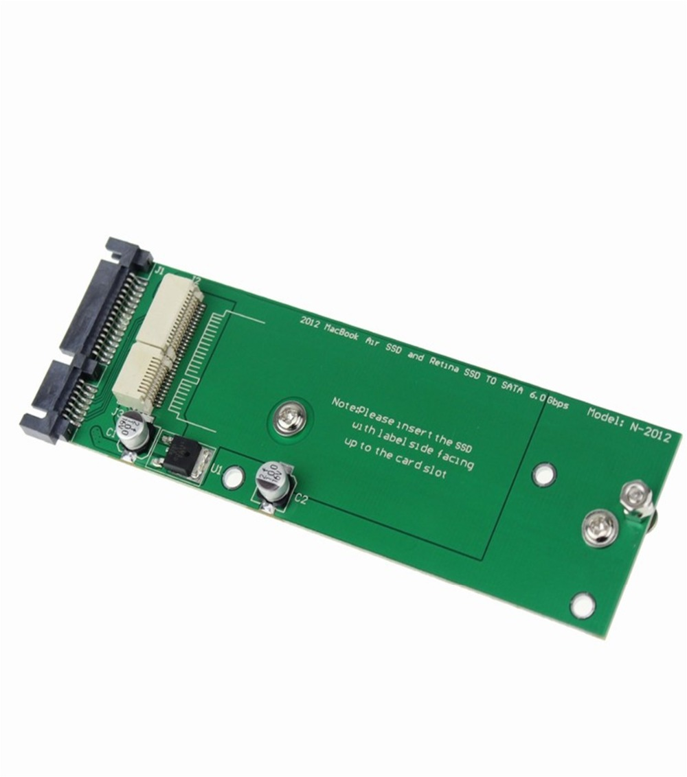 все цены на Brand soupei For MacBook Air+Retina 17+7 PIN SSD to SATA Adapter Converter  Free Shipping wholesale russia brazil usa europe онлайн