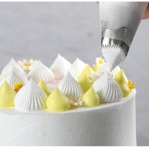 Image 5 - Buses carrées De pâtisserie Design gâteau, 3 pièces, embouts De pâtisserie glaçage, outils De décoration De gâteau Fondant