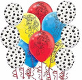 50pcs Paws Print Dog Party Balloons Latex Balloons Birthday Party Balloon Patrolling Toys Decoration Party Supplies Kids Gift