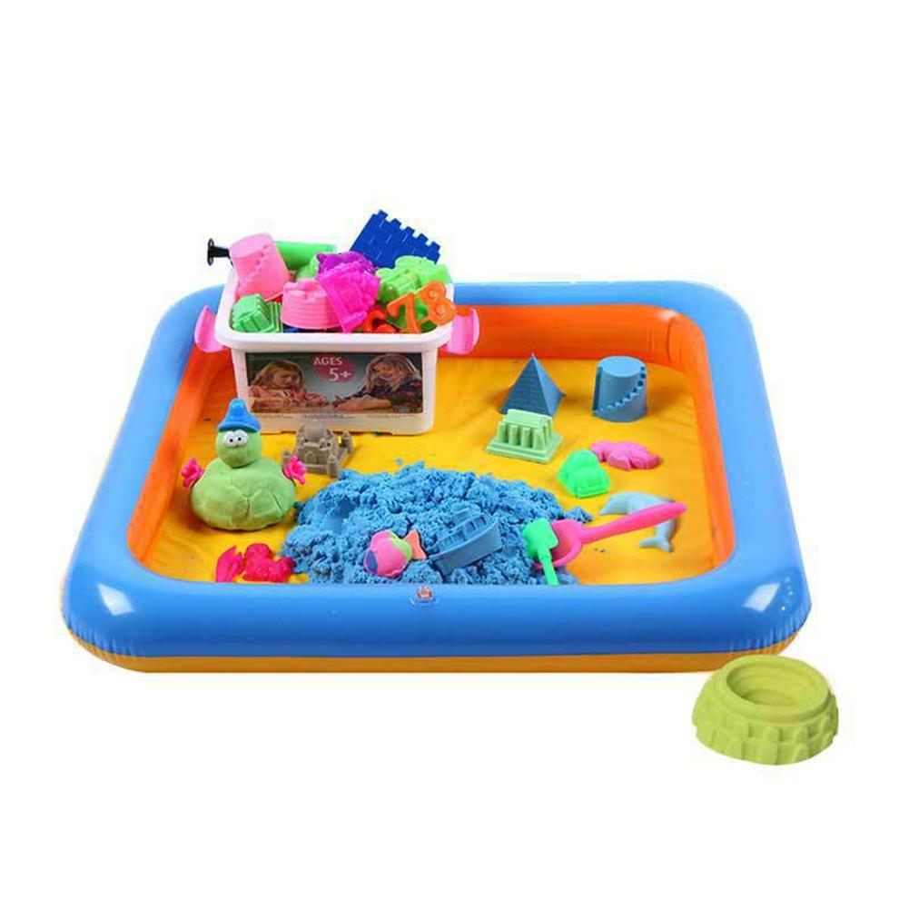 RCtown Children Cute Beach Toy Space Sand Mold Set DIY Educational Toy For Kids