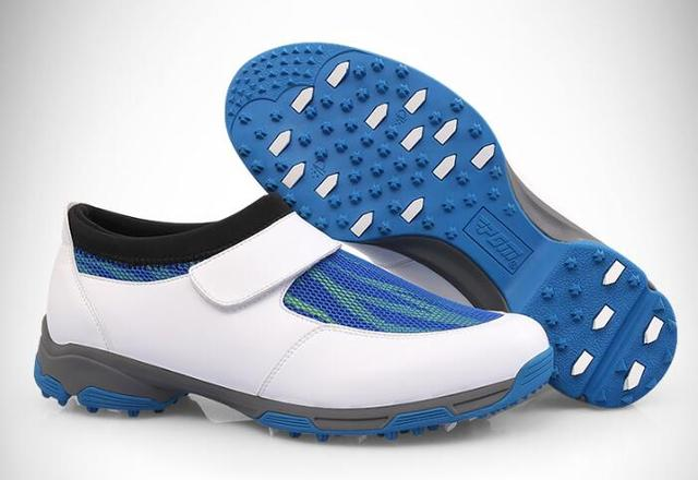 Sneakers Met Licht : Pgm mens mesh golf heren sportschoenen lente zomer licht gewicht