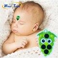 La Seguridad de la salud Cuidado de Niños Bebé Termómetros Lcd Digital Sin Mercurio Cuerpo Fiebre Frente Pegatina Tira Termómetros Para Niños