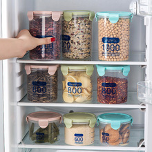 Kitchen Bottles Jars for Refrigerator Organizer Sealing Food Storage Jars Transparent Food Containers Storage Boxes Home Supply
