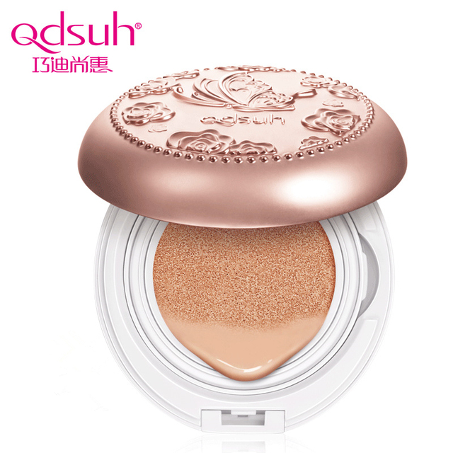 Qdsuh Butterfly Love CC Cushion Cream Foundation Moisturizer Oil-control Waterproof Concealer Natural Naked Base Primer