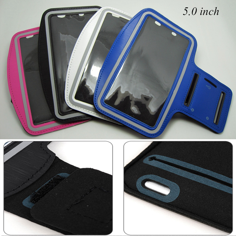 Romantic 5.0 Sports Armband For Meizu M3s/m5 Mini/u10/xiaomi Redmi 4a/3x/3s/4/3/blackview Bv5000/oukitel K4000 Arm Band Belt Bag Case Cellphones & Telecommunications
