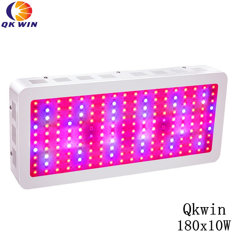 Qkwin 1800W LED Grow Light 180x10W Full Spectrum LED Grow Lights For Indoor Plants Flowering And