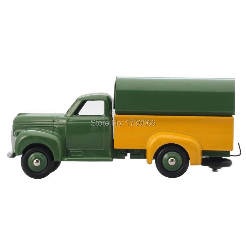 Купить с кэшбэком DINKY TOYS Atlas 25Q STUDEBAKER CAMIONNETTE BACHEE Diecast ALLOY Classic military trucks model for collect  Wholesale