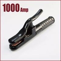 electrode holder welding rod arc welder 1000 Amp stick machine equipment insulated crocodile MMA soldering gripper clamp tool