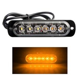 9V-40V 18W LED Car Truck Warni