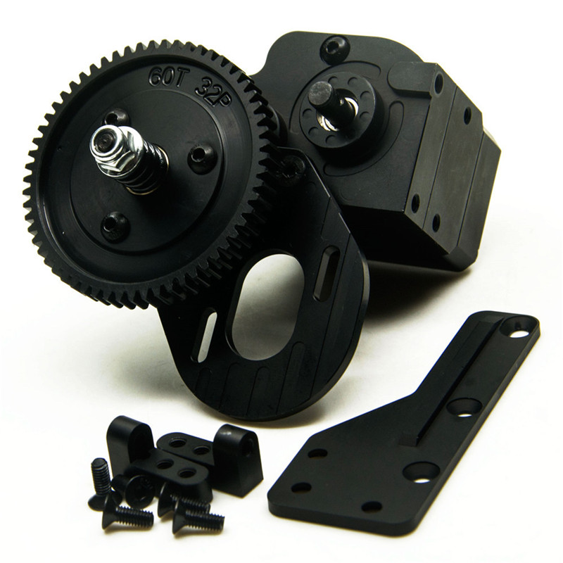все цены на Black AX2 2 Speed Transmission for Axial Wraith & SCX10 / Honcho онлайн