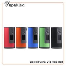 100% Original Sigelei Fuchai 213 Plus Mod 213 W TC Cigarrillos Electrónicos Vape Mod Sigelei Fuchai Mod Vaporizador 213 Plus