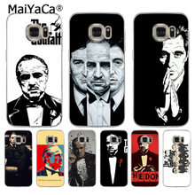 MaiYaCa De Godfather Marlon Brando Coque Shell Telefoon Case voor Samsung S5 S6 S7 Rand S8 Plus S6 Rand Plus s3 S4(China)
