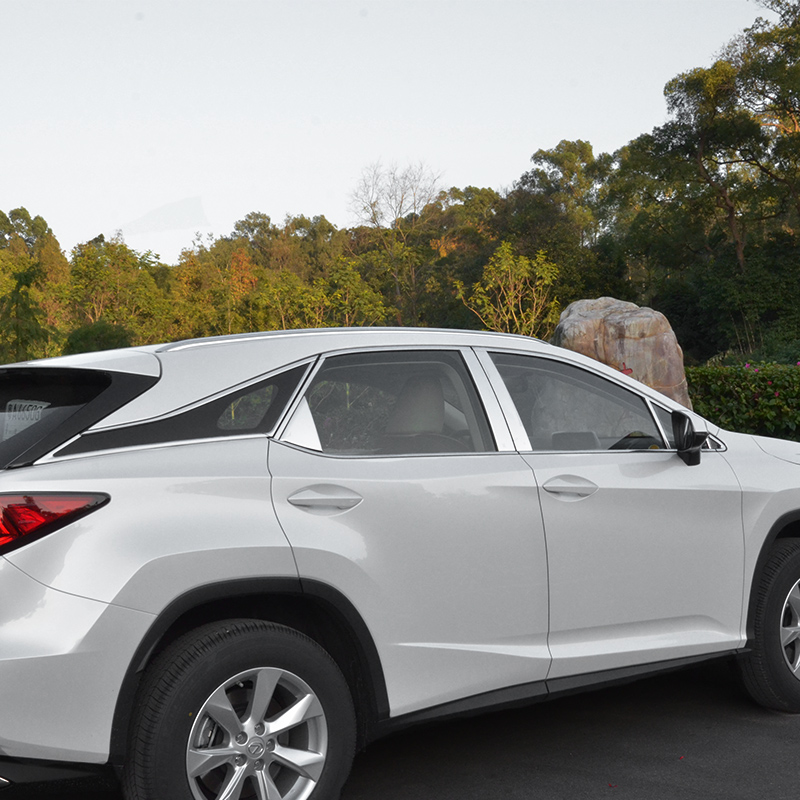 lsrtw2017 stainless steel car window trims for lexus rx200t rx350 rx450h 2015 2016 2017 2018 AL20 lsrtw2017 car styling car trunk trims for honda crv 2017 2018 5th generation
