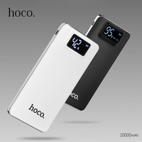HOCO 10000mAh Power Bank For IPhone Dual USB Output Mobile Phone Portable Charger External Battery For