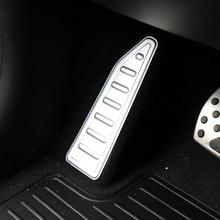 YAQUICKA автомобиля Алюминий сплав левой ног Педаль отделка интерьера Стайлинг Для Джип Ренегат 2015 2016 Авто Молдинги серебро