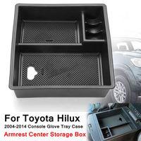 Caixa de armazenamento de braço para toyota hilux  acessórios interiores para o carro  estilo para o centro do apoio do braço caixas