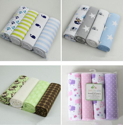 2018 16pcs lot baby cotton flannel baby blankets  flannel blankets Receiving  Blankets BTRQ0012-in Blanket   Swaddling from Mother   Kids on  Aliexpress.com ... 8f766a166
