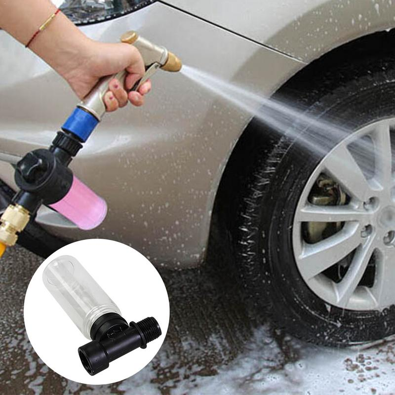 Hot 76ML Car Washing Sprayer Foam Cup Car Cleaning Detergent Bottle Bubble Container