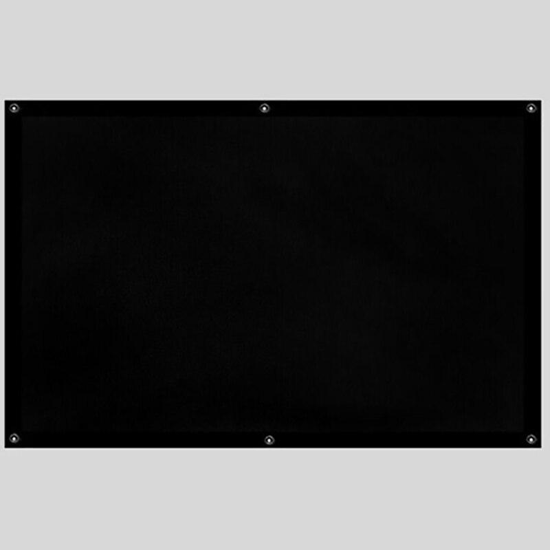 Thinyou 72 inč 16: 9 Matte White Fabric vlakno Staklo Jednostavni - Kućni audio i video - Foto 3
