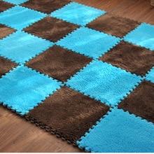 Baby Crawling Mat Baby Play Mat Puzzle EVA Foam Non-slip Carpet Developing Mat Floor decoration Rug #45 36pcs baby floor foam puzzle mat crawling play pad carpet yh 17