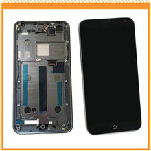 For Meizu MX4 LCD Display with Touch Screen Glass Digitizer Full Assembly + LCD Frame Free shipping