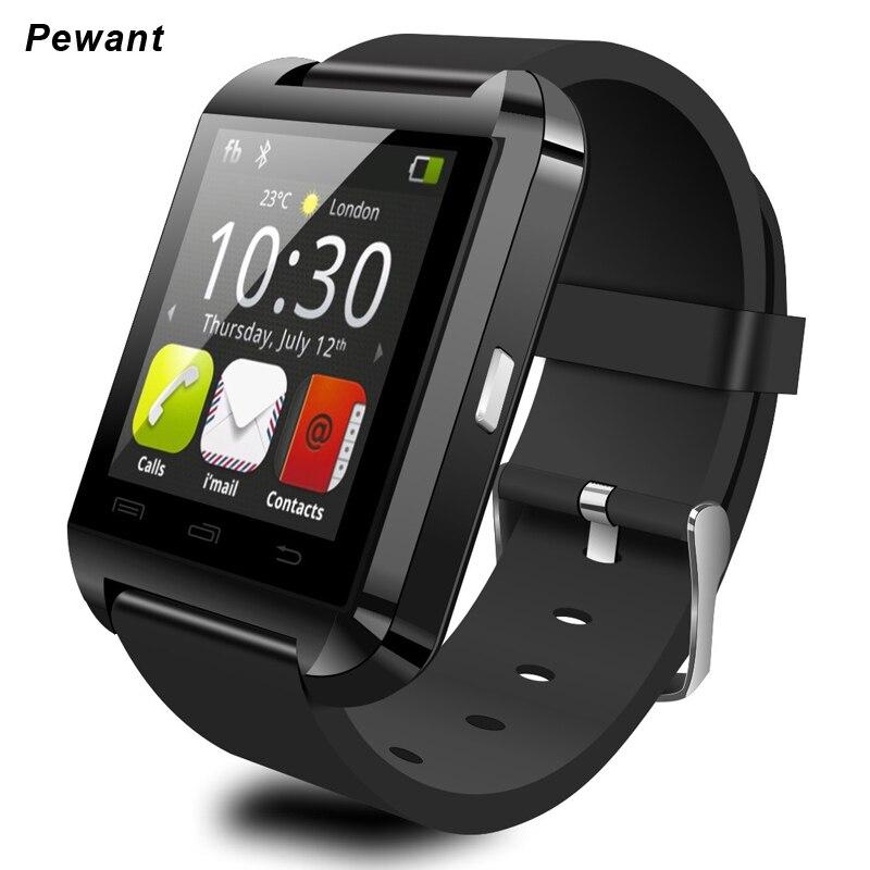 Fábrica Al Por Mayor U8 Reloj Inteligente Con Pasómetro Bluetooth Smartwatch Par
