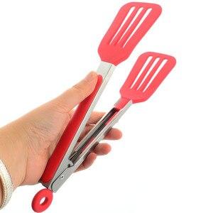 Нескользящие силиконовые щипцы Upspirit для хлеба, щипцы для выпечки, антинагревающийся зажим для кондитерских изделий, щипцы для барбекю, инструменты для приготовления пищи, кухонная посуда