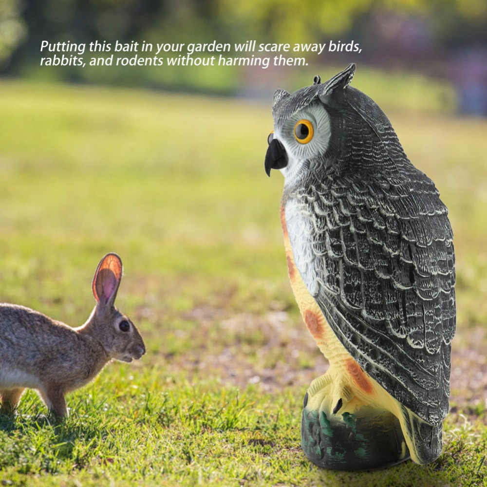 Cute Lovely Animal Ornament Decoration Adornment Simulation Owl Flying Bird Duck for Home Garden Decor Gifts