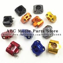 CNC modified motocross adjustable handlebar adapter Clamp motorcycle 22mm- 28mm Fat Bar 1-1/8″ Pit Bike Motocross Motorcycle