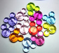 50 PCS/lot 37x33mm Mix color chunky Transparent Acrylic minnie  Head beads for chunky Jewelry necklace