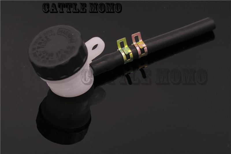 Rear Brake Fluid Reservoir Tank Oil Cup Hose Line Tube Pipe For BMW Kawasaki Suzuki Honda Yamaha Dirt Bike Reservoir Cup