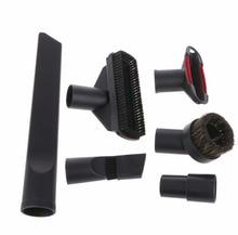 6 En 1 Aspirador Boquilla de Cepillo Hogar Polvo Grieta Stair Tool Kit 32mm 35mm