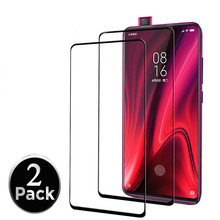 2 pcs 9D Full Cover Protective Glass Flim Xiaomi mi 9t mi9t Redmi K20 Pro Glue Screen Protector Tempered 9T