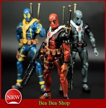 "6 ""17 cm PVC The Avengers Superhéroe Justice league Deadpool X-MAN Figuras de Acción juguetes Colección Modelo de Juguete 3 estilo"