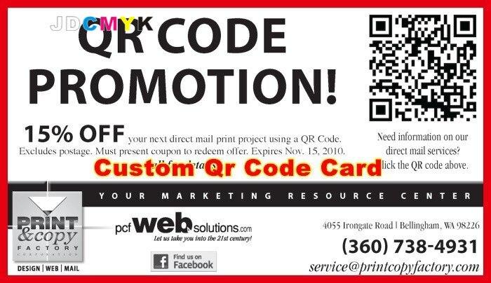 Us 25 5 500 Stücke Benutzerdefinierte Qr Code Karte Qr Code Visitenkarten 300g Glänzend Oder Matt Benutzerdefinierte Busi Ness Kartendruck In