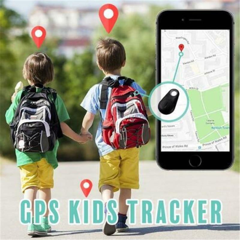 Kids Smart Mini GPS Tracker Anti-Lost Waterproof Bluetooth Tracer For Pet Dog Cat Keys Wallet Bag Kids Trackers Finder Equipment