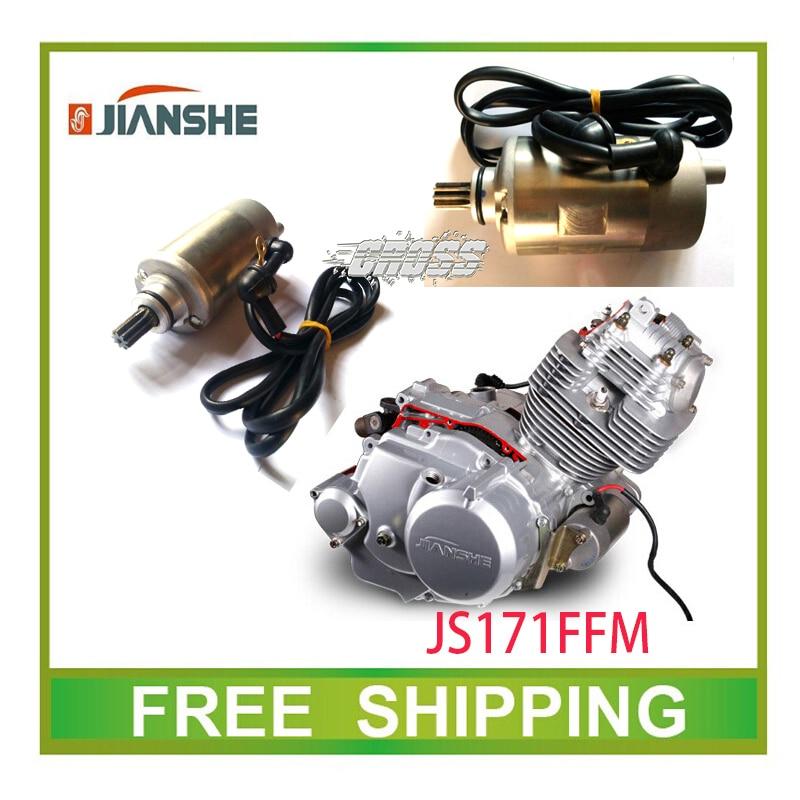 Jianshe 250cc Atv Atv250-3-5 Eléctrico Motor De Arranque Quad Gato Salvaje Accesorios Envío Gratis