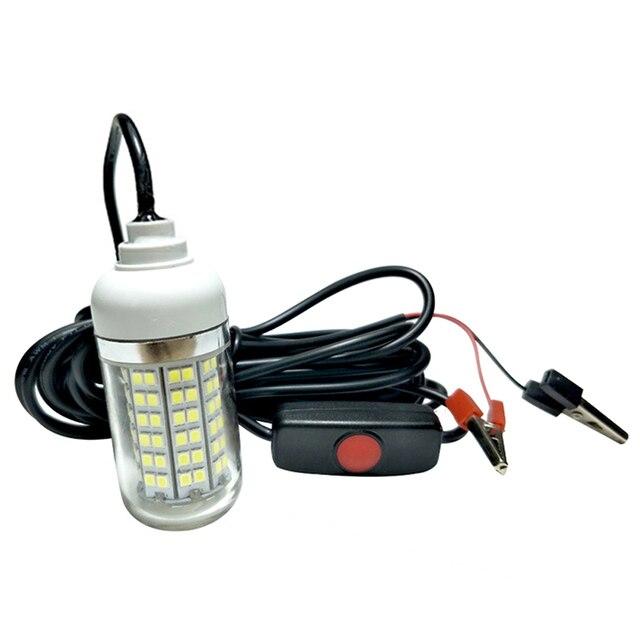 15 W wodoodporny LED podwodne światło noc lampa wędkarska przynęta wędkarska dla tej lampy 12 V łódź morska jacht