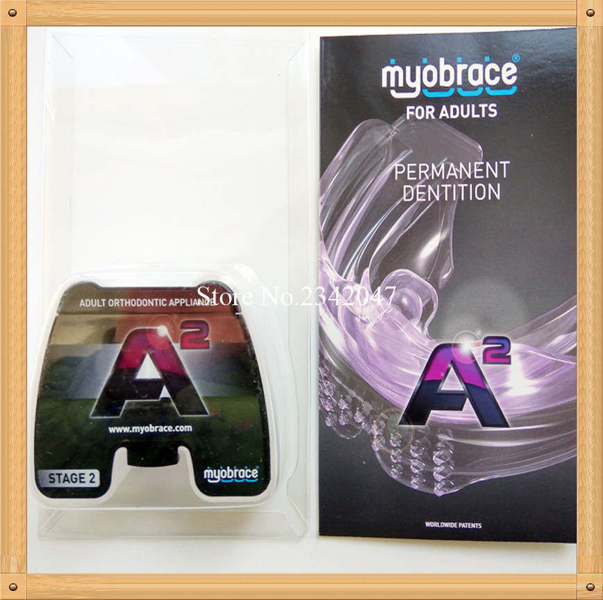 Myobrace for Adult A2 Orthodontic Teeth Trainer Appliance MRC orthodontic brace A2 MRC teeth trainer A2